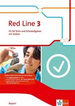 Red Line 3. Ausgabe Bayern. Fit für Tests und Schulaufgaben mit Audio-CD Klasse 7