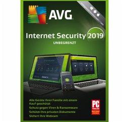AVG Internet Security - Unbegrenzte Geräte / 1 Jahr (Download f. Windows und Mac)