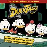 Disney/DuckTales - Folge 5: Die lebenden Mumien von Toth-Ra / Achtung vor den Erdfermianern! (MP3-Download)