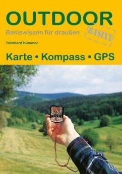 Karte Kompass GPS - Kummer, Reinhard