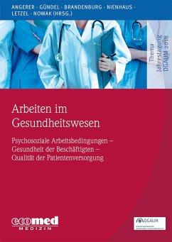 Arbeiten im Gesundheitswesen - Angerer, Peter; Gündel, Harald; Brandenburg, Stephan; Nienhaus, Albert; Letzel, Stephan; Nowak, Dennis