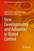 New Developments and Advances in Robot Control (eBook, PDF)