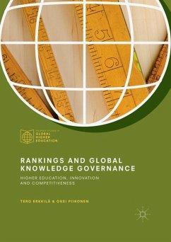 Rankings and Global Knowledge Governance - Erkkilä, Tero; Piironen, Ossi