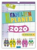 XL-Familienplaner 2019/ 2020 18 Monate