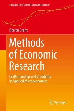 Methods of Economic Research (eBook, PDF) - Grant, Darren