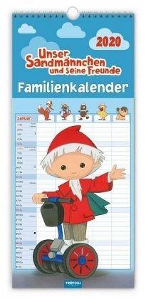 unser sandmännchen und seine freunde, familienkalender 2020 - kalender portofrei bestellen