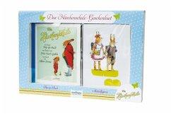 Die Häschenschule: Das Häschenschule-Geschenkset , Pop-up-Buch und Aufstellfiguren (Mängelexemplar)