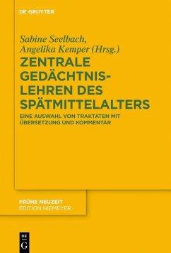 Zentrale Gedächtnislehren des Spätmittelalters (eBook, ePUB)