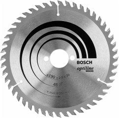 Bosch Optiline Wood 190x30-48 Kreissägeblatt