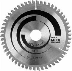 Bosch Optiline Multimaterial 190x30-54 Kreissägeblatt