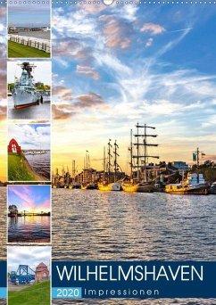 Wilhelmshaven Impressionen (Wandkalender 2020 DIN A2 hoch)