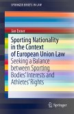 Sporting Nationality in the Context of European Union Law (eBook, PDF)