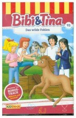 Bibi & Tina - Das wilde Fohlen, 1 Cassette