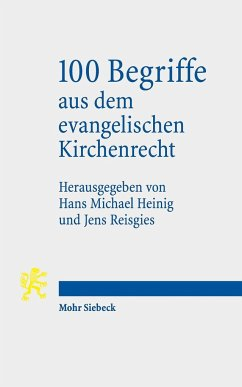 100 Begriffe aus dem evangelischen Kirchenrecht