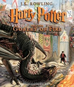 Harry Potter and the Goblet of Fire: The Illustrated Edition - Rowling, J. K.