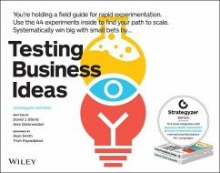 Testing Business Ideas - Bland, David J.; Osterwalder, Alexander