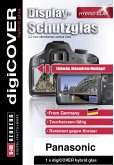 digiCOVER Hybrid Glas Display Schutz Panasonic DMC-G70