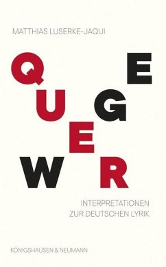 Querwege - Luserke-Jaqui, Matthias