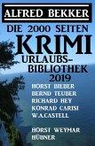 Die 2000 Seiten Krimi Urlaubs-Bibliothek 2019 (eBook, ePUB)