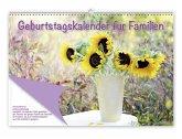 Geburtstagskalender für Familien