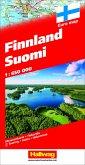Hallwag Straßenkarte Finnland Suomi 1:650 000