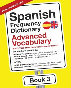 Spanish Frequency Dictionary - Advanced Vocabulary - Mostusedwords