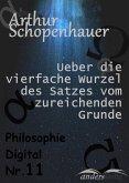 Ueber die vierfache Wurzel des Satzes vom zureichenden Grunde (eBook, ePUB)