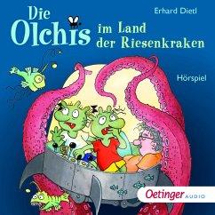 Die Olchis im Land der Riesenkraken (MP3-Download) - Dietl, Erhard