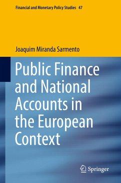Public Finance and National Accounts in the European Context (eBook, PDF) - Miranda Sarmento, Joaquim