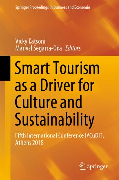 Smart Tourism as a Driver for Culture and Sustainability (eBook, PDF)