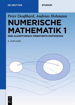 Numerische Mathematik 1 (eBook, PDF) - Deuflhard, Peter; Hohmann, Andreas
