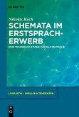 Schemata im Erstspracherwerb (eBook, PDF)
