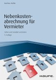 Nebenkostenabrechnung für Vermieter (eBook, PDF)