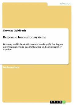 Regionale Innovationssysteme (eBook, ePUB)