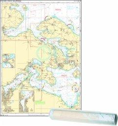 Delius Klasing-Sportbootkarten Einzelkarte Flensburger Förde - Als Sund - Abenra Fjord / Flensburg Fjord West