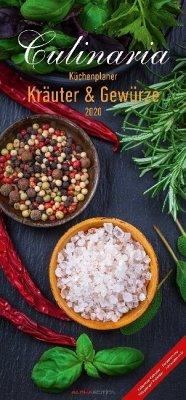 Culinaria Küchenplaner Kräuter und Gewürze 2020