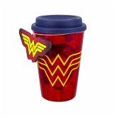 Wonder Woman Reisebecher - rot