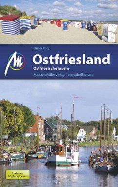 Ostfriesland & Ostfriesische Inseln (Mängelexemplar) - Katz, Dieter