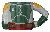 STAR WARS Boba Fett Sculpted Tasse Torso mit 3D Arm, Mug, 350 ml