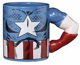 MARVEL Captain America Tasse Torso mit 3D Arm, Mug, 350 ml