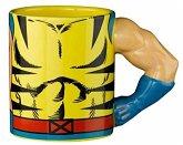 MARVEL X-MEN Wolverine Tasse Torso mit 3D Arm, Mug, 350 ml