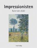 Impressionisten 2020. Kunstkarten-Einsteckkalender