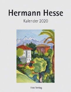 Hermann Hesse 2020. Kunstkarten-Einsteckkalender - Hesse, Hermann