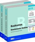 BKI Baukosten Gebäude + Bauelemente Neubau 2019 - Kombi Teil 1-2