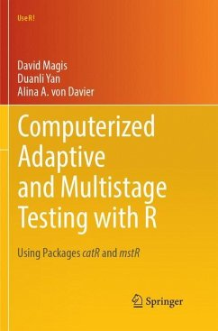 Computerized Adaptive and Multistage Testing with R - Magis, David; Yan, Duanli; Davier, Alina A. von