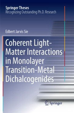 Coherent Light-Matter Interactions in Monolayer Transition-Metal Dichalcogenides - Sie, Edbert Jarvis