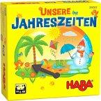 HABA 304522 - Unsere Jahreszeiten, Lernspiel, Kinderspiel