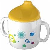HABA 304473 - Trinklerntasse Regenbogenfarben, Kindergeschirr