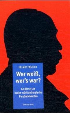 Wer weiß, wer's war (Mängelexemplar) - Engisch, Helmut