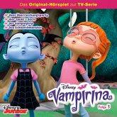 Disney/ Vampirina - Folge 3: Vees Überraschungsparty/ Hier spukt's doch!/ Der Vampingtrip/ Das Schnarchmonster (MP3-Download)